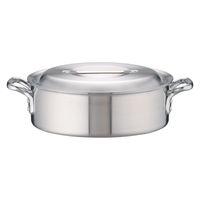 アルミDON外輪鍋 33cm ガス火専用 AST27033 アカオアルミ販売 (取寄品)