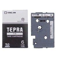 キングジム テプラ TR 6mm 白ラベル(黒文字) 1個 TC6S (取寄品)
