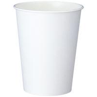紙コップ ホワイト 275ml(9オンス) 1セット(1000個:100個入×10袋)