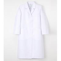 ナガイレーベン 女子シングル診察衣 (ドクターコート) 医療白衣 長袖 ホワイト L TAP-75(取寄品)