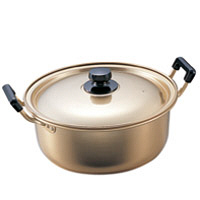 アカオアルミ しゅう酸実用鍋24cm