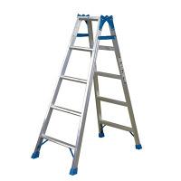 PiCa Corp(ピカコーポレイション) アルミ合金 はしご兼用脚立 5段 (5尺 139cm) MBX-150A 1台 (直送品)