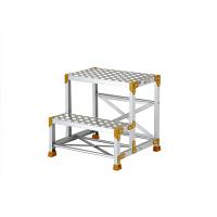 PiCa Corp(ピカコーポレイション) 踏台 踏面縞板タイプ作業台 2段 60cm FG-266CP 1台 (直送品)