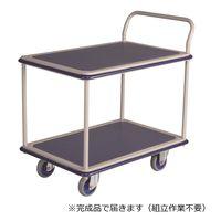 金沢車輌 スチール2段台車 300kg荷重 NHT-304 1台 (直送品)