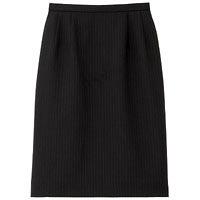 BON(ボン) 事務服 大きいサイズ マニッシュライン ストレッチタイトスカート ネイビー×パープル 17号 HW2240A (直送品)