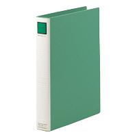 キングジム パイプファイルライト A4タテ とじ厚30mm 緑 1333 1パック(10冊入) (取寄品)