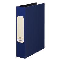 キングジム アートカラーパイプファイル A4タテ とじ厚50mm 青 4475 1パック(10冊入) (取寄品)