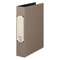 キングジム アートカラーパイプファイル A4タテ とじ厚50mm グレー 4475 1パック(10冊入) (取寄品)