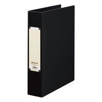 キングジム アートカラーパイプファイル A4タテ とじ厚50mm 黒 4475 1パック(10冊入) (取寄品)