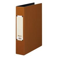 キングジム アートカラーパイプファイル A4タテ とじ厚50mm 茶 4475 1パック(10冊入) (取寄品)