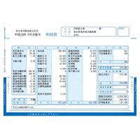 弥生 給与明細書ページプリンタ用紙 封筒式 334005 1箱(250枚入)