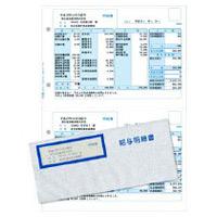 弥生 給与明細書・専用窓付封筒セット 336007 1箱(300セット入)