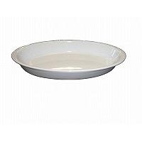 グラタン皿オーバル(ツバ付) 1011-31 白 シェーンバルド 2411200 (取寄品)