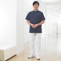 フォーク 男子医務衣(ケーシージャケット) 1010CR-7 ネイビー 4L (取寄品)