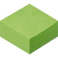 溝端紙工印刷 カラーナプキン 4つ折り 2PLY グリーンティー 1セット(200枚:50枚入×4袋)