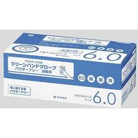 イワツキ クリーンハンド 滅菌済 6.0サイズ 004-41530 1箱(20双入) (使い捨て手袋)