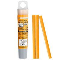 ゼブラ 蛍光オプテックス1・2用カートリッジ オレンジ RWK8-OR 1箱(30本:3本入×10ケース)