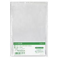 伊藤忠リーテイルリンク OPP袋(テープ付き) B5 透明封筒 1箱(5000枚:100枚入×50袋)