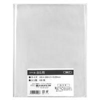 伊藤忠リーテイルリンク OPP袋(テープなし) B5 透明袋 1箱(5000枚:100枚入×50袋)