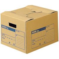 コクヨ 文書保存箱A4ファイル用 フタ差し込み式 A4-FBX1 1箱(10枚入)