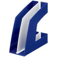 ソニック ファイルボックス タテ型 ブルー FB-708-B 1袋(10個入)