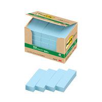 スリーエム ポスト・イット(R)見出し 100%再生紙シリーズ 50×15mm ブルー 50冊