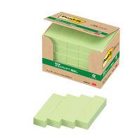 スリーエム ポスト・イット(R)見出し 100%再生紙シリーズ 50×15mm グリーン 50冊
