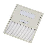 リヒトラブ カードインデックス(カーデックス) A4 ポケット数/11 オフホワイト HC111C-1 (直送品)