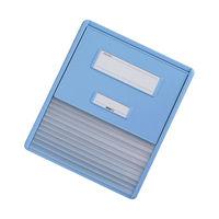 リヒトラブ カードインデックス(カーデックス) A4 ポケット数/11 ブルー HC111C-2 (直送品)