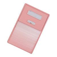 リヒトラブ カードインデックス(カーデックス) A4 ポケット数/21 ピンク HC112C-4 (直送品)