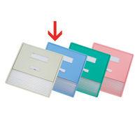 リヒトラブ カードインデックス(カーデックス) A3 ポケット数/11 ブルー HC113C-2 (直送品)