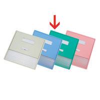 リヒトラブ カードインデックス(カーデックス) A3 ポケット数/11 グリーン HC113C-3 (直送品)
