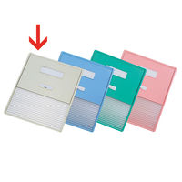 リヒトラブ カードインデックス(カーデックス) A3 ポケット数/16 オフホワイト HC114C-1 (直送品)
