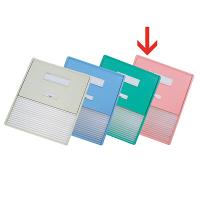 リヒトラブ カードインデックス(カーデックス) A3 ポケット数/16 ピンク HC114C-4 (直送品)
