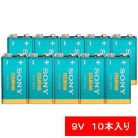 ソニー アルカリ乾電池「スタミナ」 角形 9V形 6LR61SG-BHD 1パック(10本:5本入×2個)
