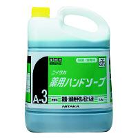 ニイタカ 薬用ハンドソープ5kg 1箱(3個入) 【希釈泡タイプ】