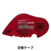 テープのり ドットライナーパワー 強力貼るタイプ 詰め替えテープ タ-D430-10 10個 コクヨ