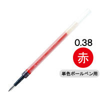三菱鉛筆(uni) ゲルインクボールペン替芯 シグノ 0.38mm UMR-83 赤 1本