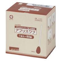 白十字 アプリスワブ 綿径12×軸長100mm 11520 1箱(50本入)