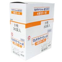 白十字 マルチテトラーゼ 滅菌済 4折×3枚入 14823 1箱(30袋入)