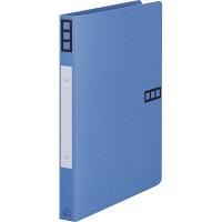 リングファイル 丸型2穴 A4タテ 背幅27mm 10冊 アスクル シブイロ ブルー