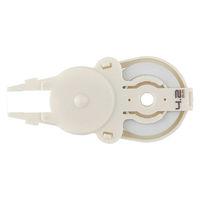 プラス 修正テープ ホワイパースライド 詰め替えテープ 幅4.2mm×10m ホワイト 白 5個 42805