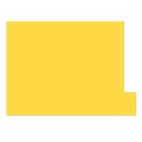 日本ホップス 仕切りガイド ラテラル A4 イエロー DG-A4L03 1袋(10枚入) (直送品)