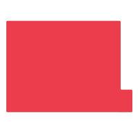 日本ホップス 仕切りガイド ラテラル A4 レッド DG-A4L01 1袋(10枚入) (直送品)