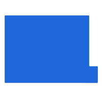 日本ホップス 仕切りガイド ラテラル A4 ブルー DG-A4L02 1袋(10枚入) (直送品)