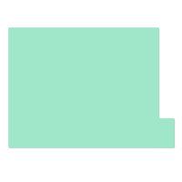 日本ホップス 仕切りガイド ラテラル A4 パステルグリーン DG-A4L12 1袋(10枚入) (直送品)