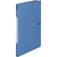 Z式パンチレスファイル A4タテ 背幅15mm 10冊 アスクル シブイロ ブルー