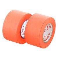 ヤマト メモックロールテープ詰替用 幅25mm×10m巻 オレンジ WR-25H-OR 24巻(2巻入×12パック)