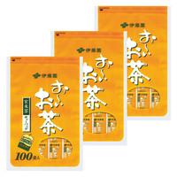 伊藤園 おーいお茶 玄米茶ティーバッグ 1セット(300バッグ:100バッグ入×3袋)