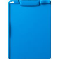 アスクル バインダー クリップボード A4タテ ブルー 青 10枚